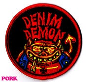 Image of DENIM DEMON PATCH
