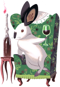 Image of PRINT - Classy Rabbit
