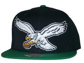 Image of Philadelphia Eagels Two Tone Big Logo Snapback Hat Cap