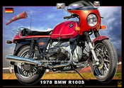 Image of 1978_BMW_R100S_motorcycle_print_poster_art