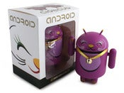 Image of Purple Lucky Cat Android - Shane Jessup