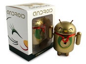 Image of Gold Lucky Cat Android Close Eye - Shane Jessup