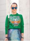 Image of Tiger Embroidery Jumper