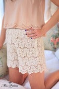 Image of Bathin' Beauty Shorts (cream)