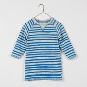 Image of Knitted Kids Raglan Dress *reversible*