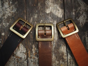 Image of Premium Japanese Single Garrison Belts