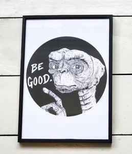 Image of 'Be Good' A4 Print