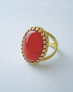 Image of Alecta Carnelian Ring