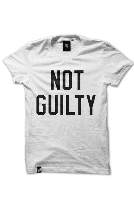 Image of NOT GUILTY (White)