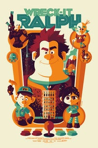 Image of &quot;wreck-it ralph&quot; regular edition AP screenprint