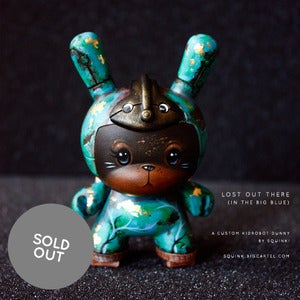Image of Lost Out There (In The Big Blue) - Custom 3&quot; Dunny