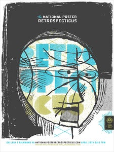Image of National Poster Retrospecticus Poster