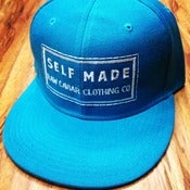 Image of Classic Teal Raw Caviar Snapback