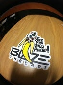 "Image of ""Eyes Peeled"" Vinyl Sticker (4 in.)"