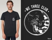 Image of Panther Club - Black Pocket tee