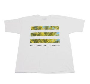 Image of Palm Bars Tee in White