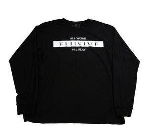 Image of AWAP Long Sleeve Tee in Black