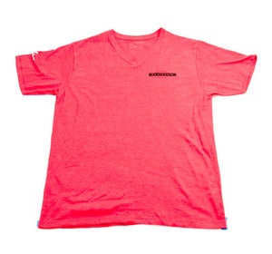 Image of Horizon V Neck in Red Heather