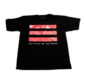 Image of Rose Bars Tee in Black