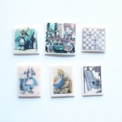 Image of Sale Lot 315: 6 x Alice in Wonderland Pendants