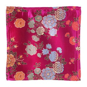 Image of Pocket Square Fuchsia