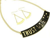 Image of Trust No Bitch Necklace