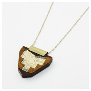 Image of Peru Necklace - Gold