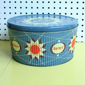Image of Large Vintage 'Delicious Sweets' Tin - SOLD