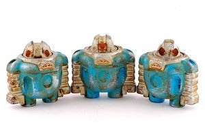 Image of ToyCon Blue/Silver Mk2 Maintenance Sprogs - Edition of 2 Each