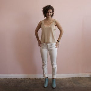 Image of Raleigh Denim white Macon jeans