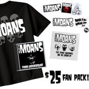 Image of The MOANS $25 Fan Pack