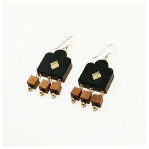 Image of Garden Window Earrings - Opaque