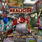 "Image of REALICIDE ""RESISTING THE VIRAL SELF"" LP/CD/zine"