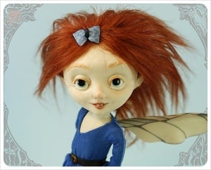 Image of SOLD ~Lucy ~ Fairy Foreigner by the Filigree