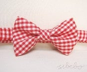 Image of Red Gingham Bowtie (IDR 65,000)