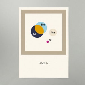 Image of BE4+T7+E5 Art Print NEW