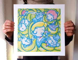 Image of Alice Entangled 12&quot;x12&quot; Print