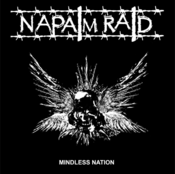 "Image of NAPALM RAID - Mindless Nation 12"" repress."