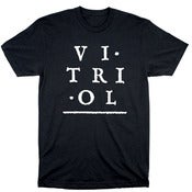 Image of Vitriol Records Logo Shirt $10