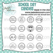 Image of School Day Candies (4x4) ~ Peachy
