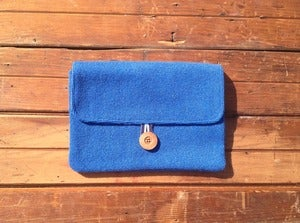 Image of Oh So Hollywood Clutch in Pacific Blue