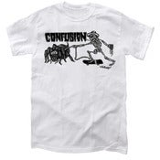 Image of Confusion - TARANTULA SKELETON t-shirt [white]