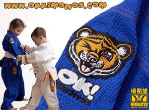 Image of Premium Kids Jiu Jitsu Gi (Blue - IN STOCK)