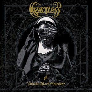"Image of MERCYLESS - ""Unholy Black Splendor"" - CD - PRE-ORDER"
