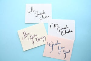 Image of Cards for mom, grandma, mama, y abuela