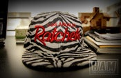 Image of LA RATCHETS SNAPBACK (zebra print)