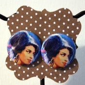 Image of Amy Whinehouse Stud Earrings