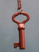 Image of Copper Key Necklace