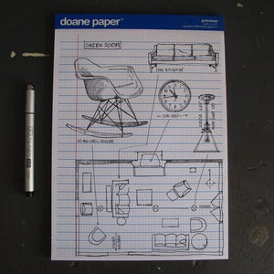 Image of Writing Pad Large (Pack of 3)