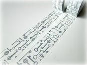 Image of Washi tape &quot;Keys&quot;